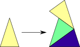 Rule Overlapping Robinson Triangle II