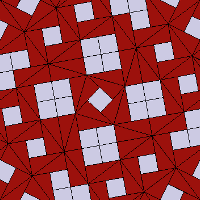 Preview Square Triangle Pinwheel Variant