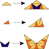 Rule Triangle Crown